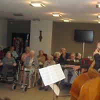 Koenraad Hofman en Martijn Vink spelen contrabas en cello